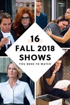 16 Fall 2018 TV Shows You Need to DVR, Stream or Binge #purewow #news #entertainment #tv