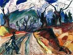 "Edvard Munch ""The Magic Forest"" 1919 Oil on canvas"