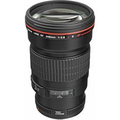 Canon EF 200mm f/2.8L II USM Lens  This is my prime lens.