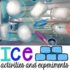 It is SUPER cold outside which means it's the perfect time to explore ice!  Click HERE to read a post about my go to  Winter Centers and Activities (math, literacy, fine motor, sensory, and more). ICE!  Each day I put blocks of ice, cups of blue water, small droppers, and tweezers in the sensory table.  Each morning...Read More