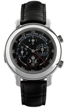 Patek Philippe Sky Moon Tourbillon.  Got a spare $1,850,000.00 burning a hole in your pocket?  Me neither.  If you did, you could buy one of these watches.