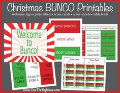 bunco score sheets template Christmas BUNCO Printable Kit - Our Thrifty Ideas Christmas Things To Do, Christmas Games, Christmas Activities, Christmas Love, Christmas Goodies, Christmas Printables, Winter Christmas, Christmas Crafts, Advent Activities