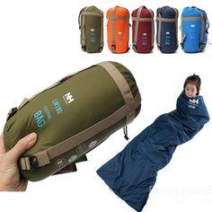 Outdoor Camping Traveling Hiking Envelope Sleeping Bag Sale - Banggood.com