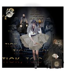 """Tick Tock; Menage a toi, never a happy ending"" by izimaher on Polyvore featuring art"