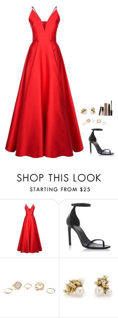 """Untitled #1052"" by h1234l on Polyvore featuring La Mania, Yves Saint Laurent, GUESS, Ruth Tomlinson and Laura Mercier"