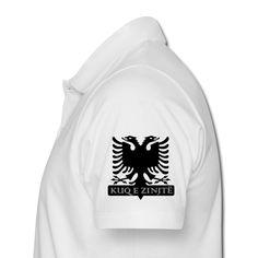 Poloshirt Albanien - Männer Poloshirt slim