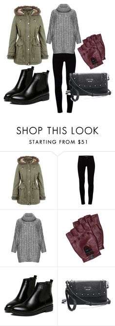 for a walk by ve-safarova on Polyvore featuring Zizzi, Brave Soul, J Brand, GUESS and Marc by Marc Jacobs