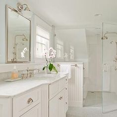Walk In Shower Ideas, Transitional, bathroom, D Thomas Scott