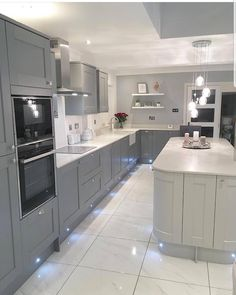 Everything About New Kitchen Renovation Ideas Do It Yourself Large Open Plan Kitchens, Open Plan Kitchen Diner, Kitchen Diner Extension, Open Plan Kitchen Living Room, Kitchen Room Design, Best Kitchen Designs, Modern Kitchen Design, Home Decor Kitchen, Interior Design Kitchen