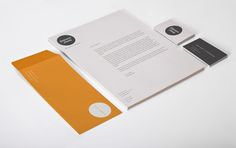 Self Promotion / Stationery by Genevieve Dennis, via Behance