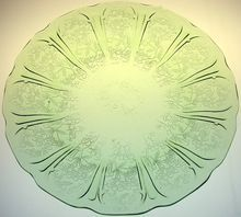 Jeannette Green Depression Glass!