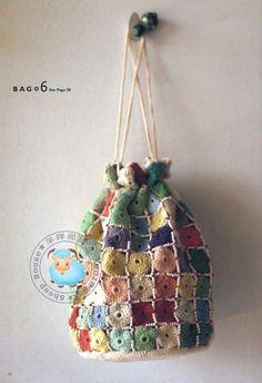 A crotchet bag