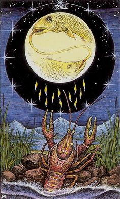 The Moon - Cosmic Tarot