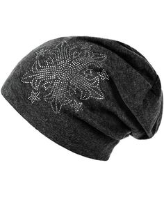 cb680ee2b3d Women Autumn Winter Flower Drills Wool Cap Knit Hat Hip Hop Hat in 6 Colors  Dark Gray CI17Y2H9THY