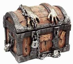 .A well-locked chest