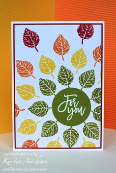 Kirsten Aitchison   Crazy Crafters Blog Hop: Thoughtful Branches   Click to see more of Kirsten's Designs #kirstenaitchison…