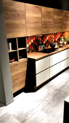 Kitchen Room Design, Kitchen Cabinet Design, Modern Kitchen Design, Home Decor Kitchen, Kitchen Layout, Interior Design Kitchen, Kitchen Ideas, Kitchen Hacks, Kitchen Designs