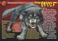 Dire Wolf | Wierd N'wild Creatures Wiki | Fandom powered by Wikia