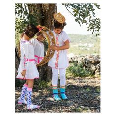 mim-pi summer t-shirt and leggings Happy Colors, Happy Kids, Fashion Kids, Little People, Cool Style, Girl Outfits, Hipster, Boho, Summer 2014