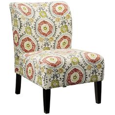 $83.99 Found it at Wayfair - Honnally Floral Side Chair