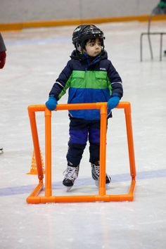 Every winter we skate weekly at a local ice rink where our students develop skills they can use on and off the ice!