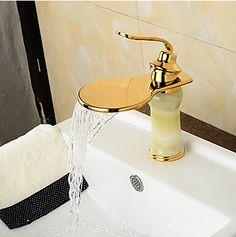 moderna bronce cascada jade imitación-ti pvd grifo de lavabo del baño - oro GR0612B http://www.grifoso.com/moderna-bronce-cascada-jade-imitaci%C3%B3nti-pvd-grifo-de-lavabo-del-ba%C3%B1o-oro-gr0612b-p-401.html