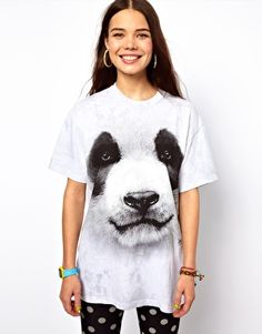 cuute The Mountain Panda T-Shirt