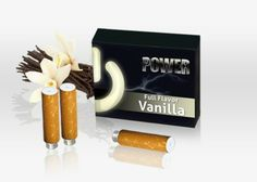 Sweet, yet potent our Vanilla will have you on your toes. The sensual aroma twirls around your senses, embarking you on a short travel through fields of orchids. Your lips have never experienced such sweetness.  #Power#Vanilla#Cartomizer#love#vapin#vapor#hot