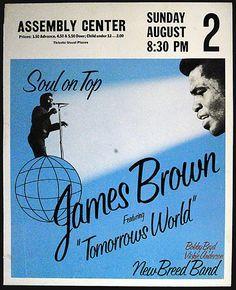 1970 James Brown Tulsa