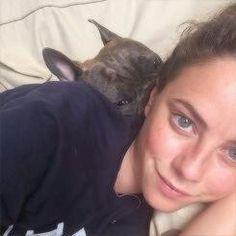 Image via We Heart It https://weheartit.com/entry/151458201/via/19064778 #dog #Effy #happy #kaya #perfect #scodelario #skins