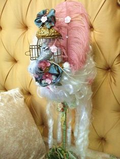 Marie Antoinette Bird Cage Wig by avictorianflower on Etsy, $159.99