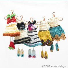 Mini dresses by Enna - those shoes!
