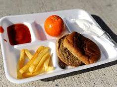 School Lunch + Vegetables