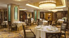 Shang Palace - Shangri-La Hotel, Paris Vue de la salle
