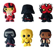 Star Wars Fridge Magnets 6 Pcs Set 1 *** Check out this great product.Note:It is affiliate link to Amazon.