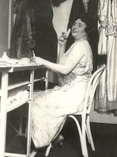 As well known as Helen Keller was, she was not w/o financial difficulties. She had gumption. Her solution to those financial woes? Vaudeville! Her 20-minute act, which continued until the sudden death of Helen's mother in 1922, opened at the Palace Theatre in NY The show featured events from Helen's life & was an enormous success, resulting in a nationwide tour. Helen was among the highest paid performers of her day, earning almost $2,000 a week for just a few shows!