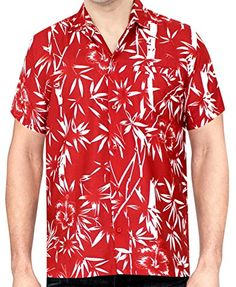 a6f97808 LA LEELA Aloha Hawaiian Tropical Beach Solid plain Mens C... https:/