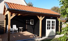 Construction, Outdoor Decor, Modern, Home Decor, Gardens, Flat Roof, Shed Houses, Arbors, Building