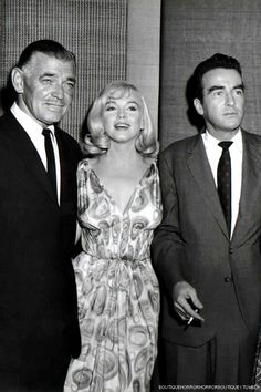 The Misfits press conference on July 24, 1960