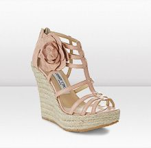 Jimmy Choo. Spring, summer, fall. Casual & dressy...The lovely espadrille wedge, you cannot go wrong