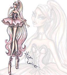 Couture Ballet by Hayden Williams: 'Pretty En Pointe'