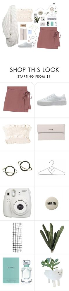 """""""mona lisa"""" by vihrgo ❤ liked on Polyvore featuring Puma, Marni, GUESS, Stefanie Sheehan Jewelry, Fujifilm, Tiffany & Co. and Blink"""