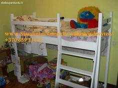 Medines lovytės vaikams. Dviaukštės lovos 865921112 Vilnius