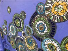 Mosaic Circles at Rabbit Hole Hotel Rabbit Hole, Circles, Mosaic, Decorative Plates, Home Decor, Decoration Home, Room Decor, Mosaics, Home Interior Design