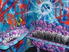 Street art: une centaine d'artistes dans une tour de Paris. Voilà le travail - Rue89