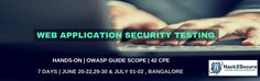 Hack2Secure's Workshop on Web Application Security Testing provides hands-on exposure using both Real-Time scenarios and Simulated Lab environment to required Tools and Techniques on different Web Security Risk and Attack vectors.  Scoped around OWASP Security Testing Guide, these intensive practical sessions provides deep-dive on required practical tips and tricks to evaluate, test and assess Security of Web Application.