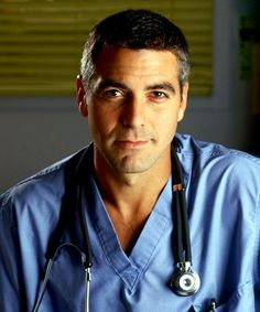 George Clooney...loved ER...watched this series from beginning to end