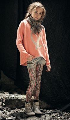 Frankie and Liberty, marca danesa de moda para jovencitas http://www.minimoda.es