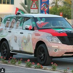 12/2014 Vehicles decked out for 43rd National Day...PHOTO:  hasso0on1993