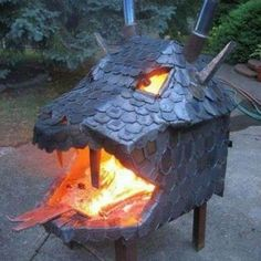 'LIKE' if you like a nice fire pit on a chilly evening's camping :-)